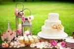 Свадебный десертный стол в деталях